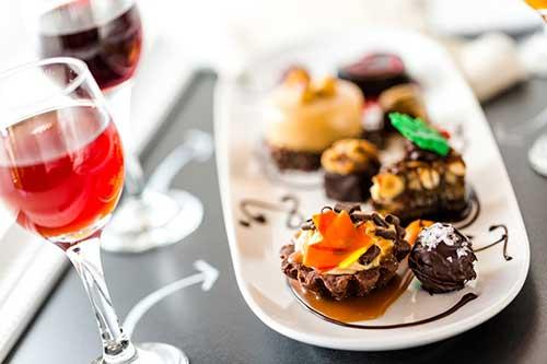 Mmmm, Tast de vins i xocolates