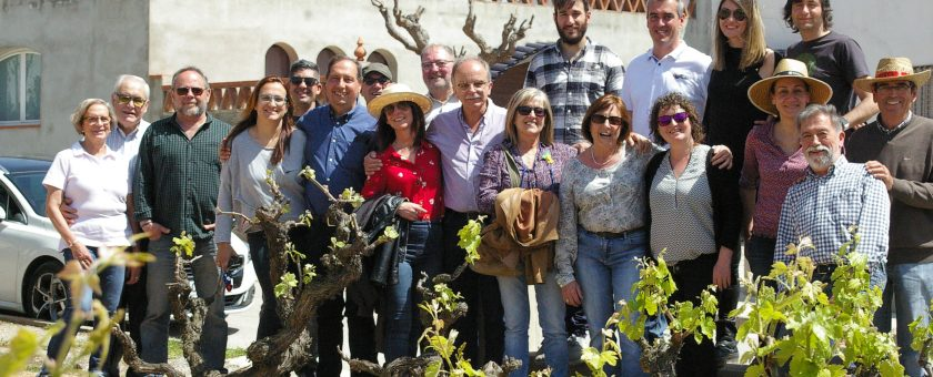 Visita al Celler del Xalet - Via